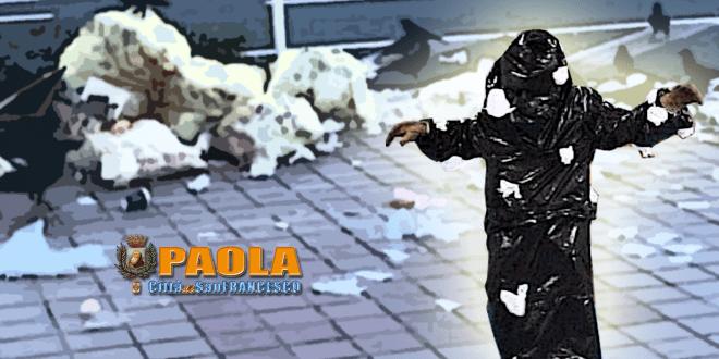aggressione a paola