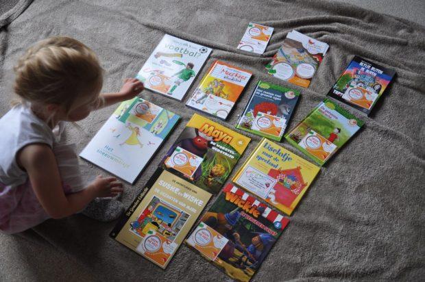 Een hele stapel boeken om te laten zwerven!