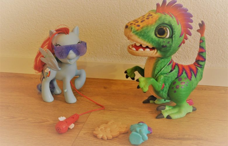 munchin rex dino en rainbow dash