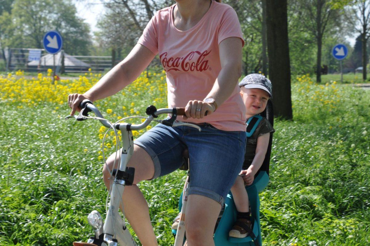 Lekker met je kindje op de fiets!