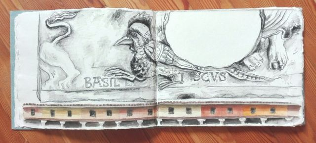 EUROPE - TRAVEL SKETCHBOOK