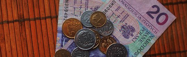 pieniądze 20 zł grosze banknot jak wygląda