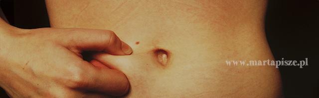 brzuch chudy