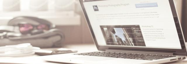 laptop mac komputer photoshop