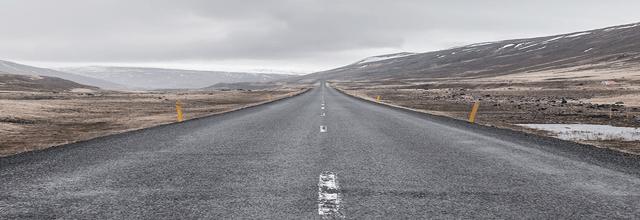 droga autostrada pustynia samotność