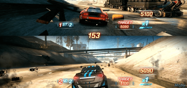 split second gry wyscigowe wyścigówki gry dla pary dwójki dwóch osób w co pograć z dziewczyną chłopaki