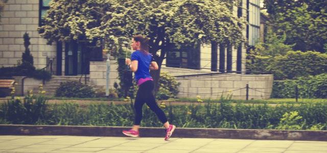 bieganie jogging biegaczka amator