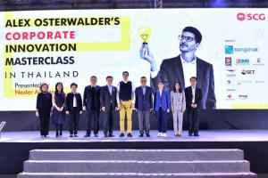 Alex Osterwalder Corporate Innovation Masterclass in Thailand