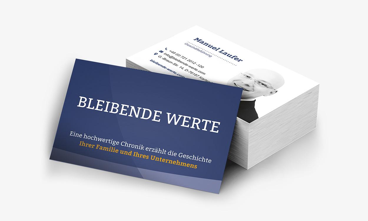 Visitenkarten Werbeagentur Karlsruhe Martes New Media
