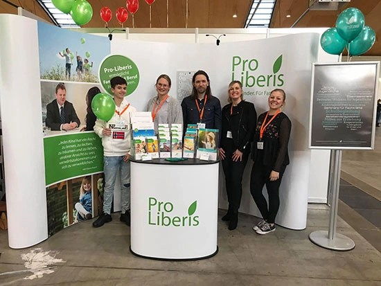 Messeauftritt, Pro Liberis Messestand