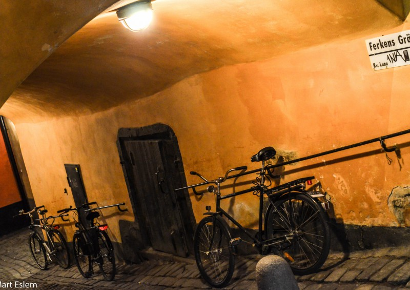 Stockholm, Sweden, Švédsko, kola, podchod [Mart Eslem]