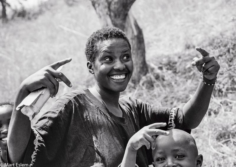 Afrika, Rwanda, Gisenyi, děti [Mart Eslem]