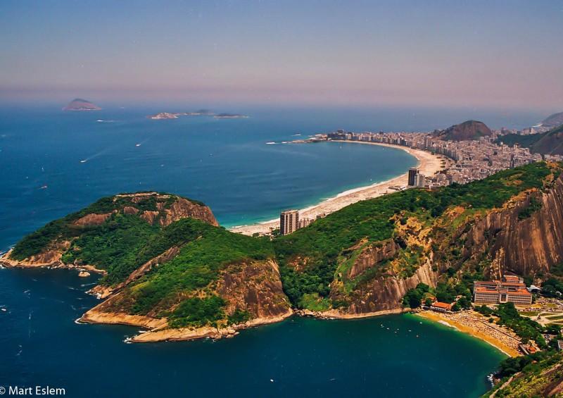Brazílie, Rio de Janeiro, Copacabana [Mart Eslem]