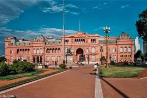 Casa Rosada - prezidentský palác v Buenos Aires – Buenos Aires, Argentina [Mart Eslem]