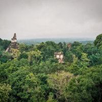 Tajemné město Tikal, El Petén, Guatemala (Mart Eslem)