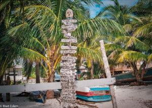 9500 kilometrů od domova, Belize (Mart Eslem)