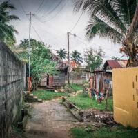 Postranní uličky v Livingstone, La Buga, Guatemala (Mart Eslem)
