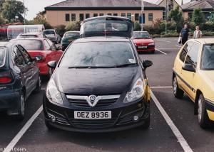 Pronajatý Vauxhall Corsa (Mart Eslem)