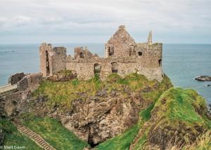 Zřícenina Dunluce Castle (Mart Eslem)
