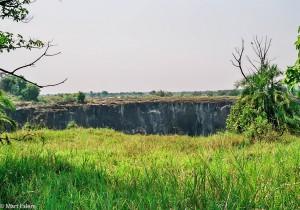 Krajina v okolí Victoria Falls - zelená varianta, JAR [Mart Eslem]