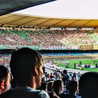 Fotbalové utkání na Maracaná(Mart Eslem)