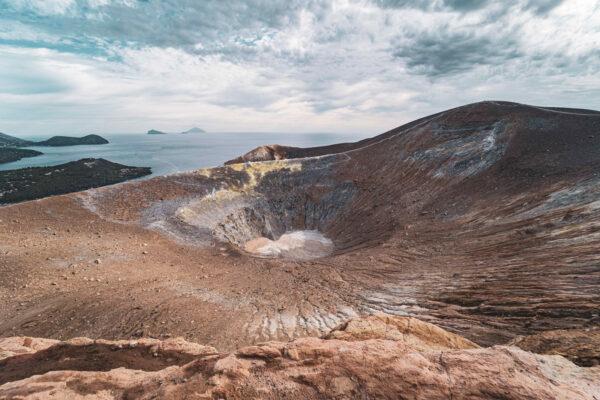 Liparské ostrovy Itálie Mart Eslem