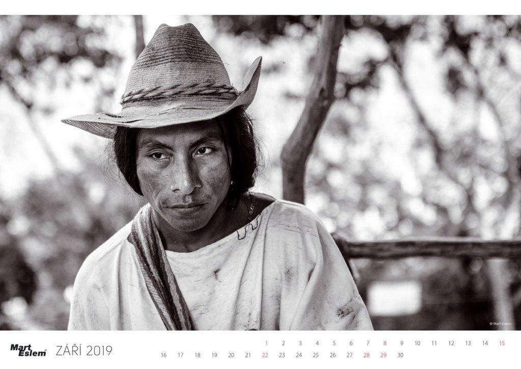 Mart Eslem Kalendár Kolumbie 2019