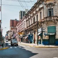Ulice v centru Asunciónu – Asunción, Paraguay [Mart Eslem]