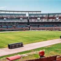 Na této ploše se hrálo finále MS ve fotbale 1978 – El Monumental, River Plate, Buenos Aires, Argentina [Mart Eslem]