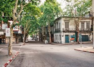 Klidné ulice  – Montevideo, Uruguay [Mart Eslem]