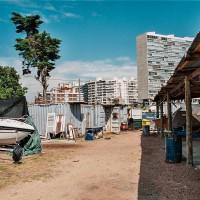 Zákoutí jachetního klubu v Puerto del Buceo, Montevideo, Uruguay [Mart Eslem]