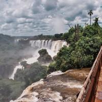 Železná lávka u vodopádů Iguazú – Iguazú, Argentina [Mart Eslem]