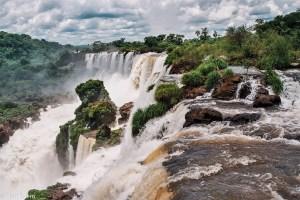 Vodopády Iguazú - na začátku Salto Mbiguá – Iguazú, Argentina [Mart Eslem]