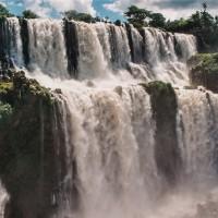 Vodopády Iguazú - pohled z Isla San Martin – Iguazú, Argentina [Mart Eslem]