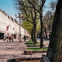 Nekuřácká pěší zóna je v Kaunasu už od 90. let dvacátého století (Mart Eslem)