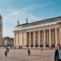Katedrální náměstí ve Vilniusu (Mart Eslem)