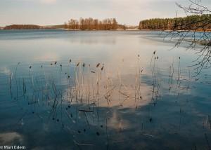 Jezerní kraj Latgalsko v Lotyšsku (Mart Eslem)