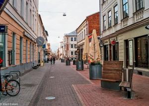 Pěší zóna v estonském Tartu (Mart Eslem)