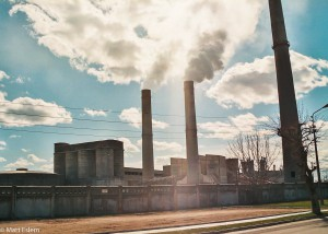 Cementárna v estonské Kundě (Mart Eslem)