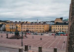 Senátní náměstí ve finských Helsinkách (Mart Eslem)