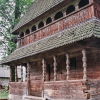 Dřevěný kostel v Koločavě-Horbu (Mart Eslem)