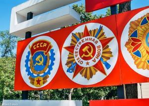 Rudá propaganda v Tiraspolu (Mart Eslem)