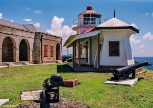 Fort King George na ostrově Tobago (Mart Eslem)
