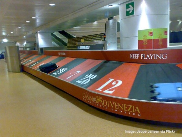 Roulette Baggage Carousel Venice Italy