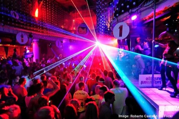 Ibiza nightclub party