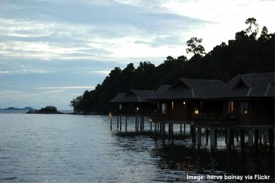 Malaysian bungalows