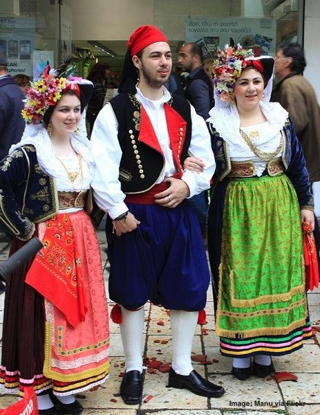 Easter in Corfu Greece