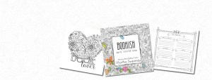 Bookish: Adult Coloring Book by Martha Sweeney
