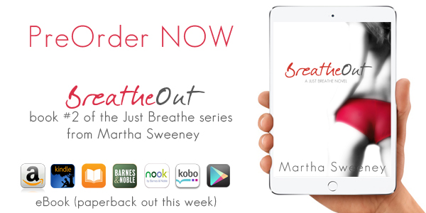 Preorder Breathe Out by Martha Sweeney