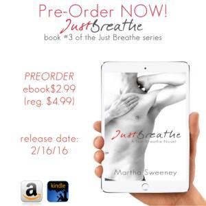 Pre-Order Just Breathe by Martha Sweeney
